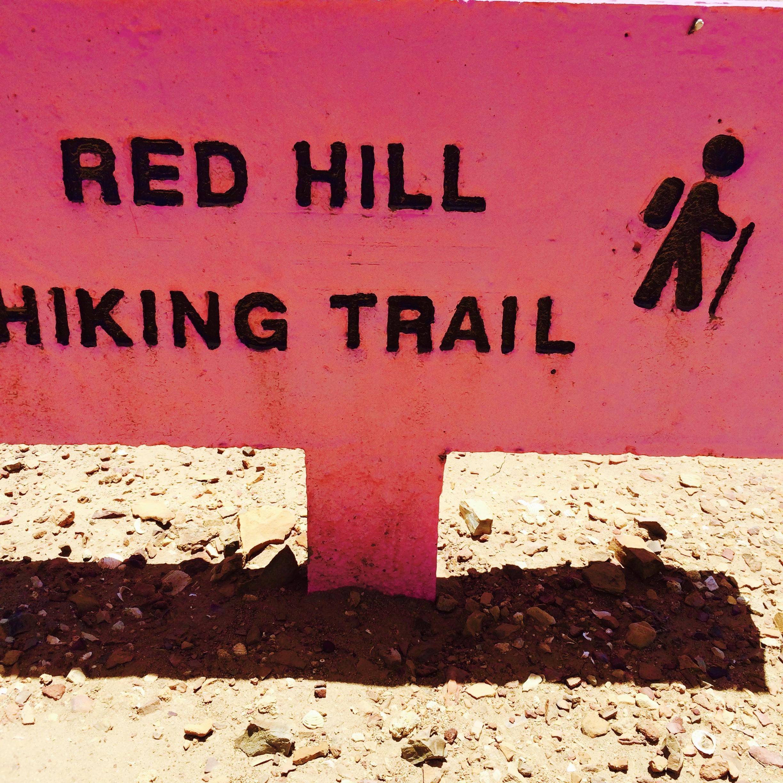 de zes hiking trails Bonaire