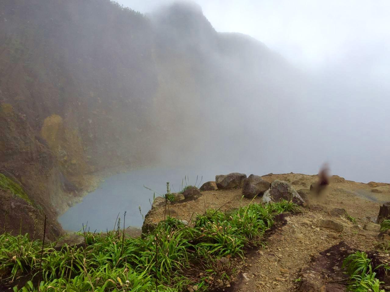 Avontuurlijk Boiling Lake Dominica