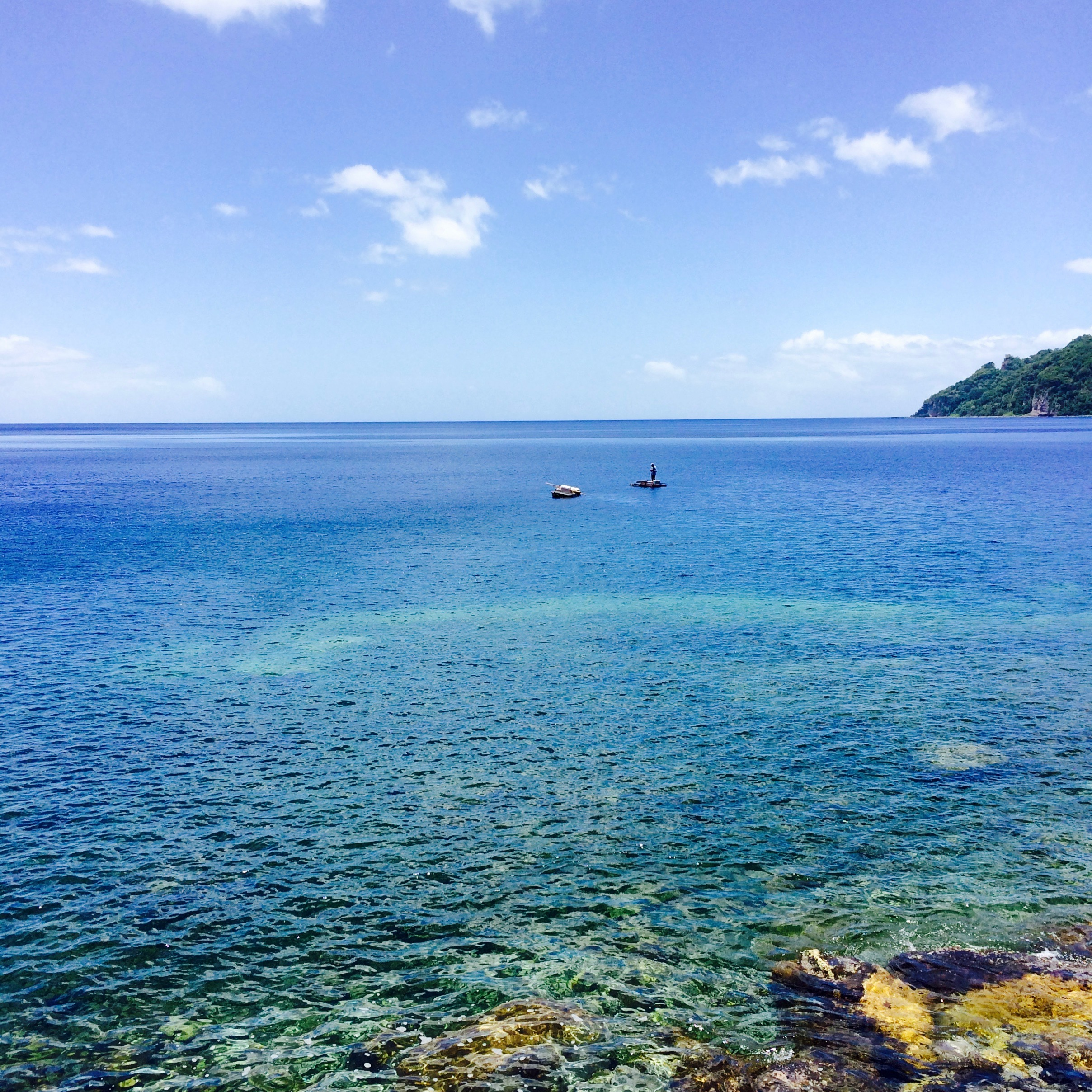 Eilandhoppen in de Caribbean