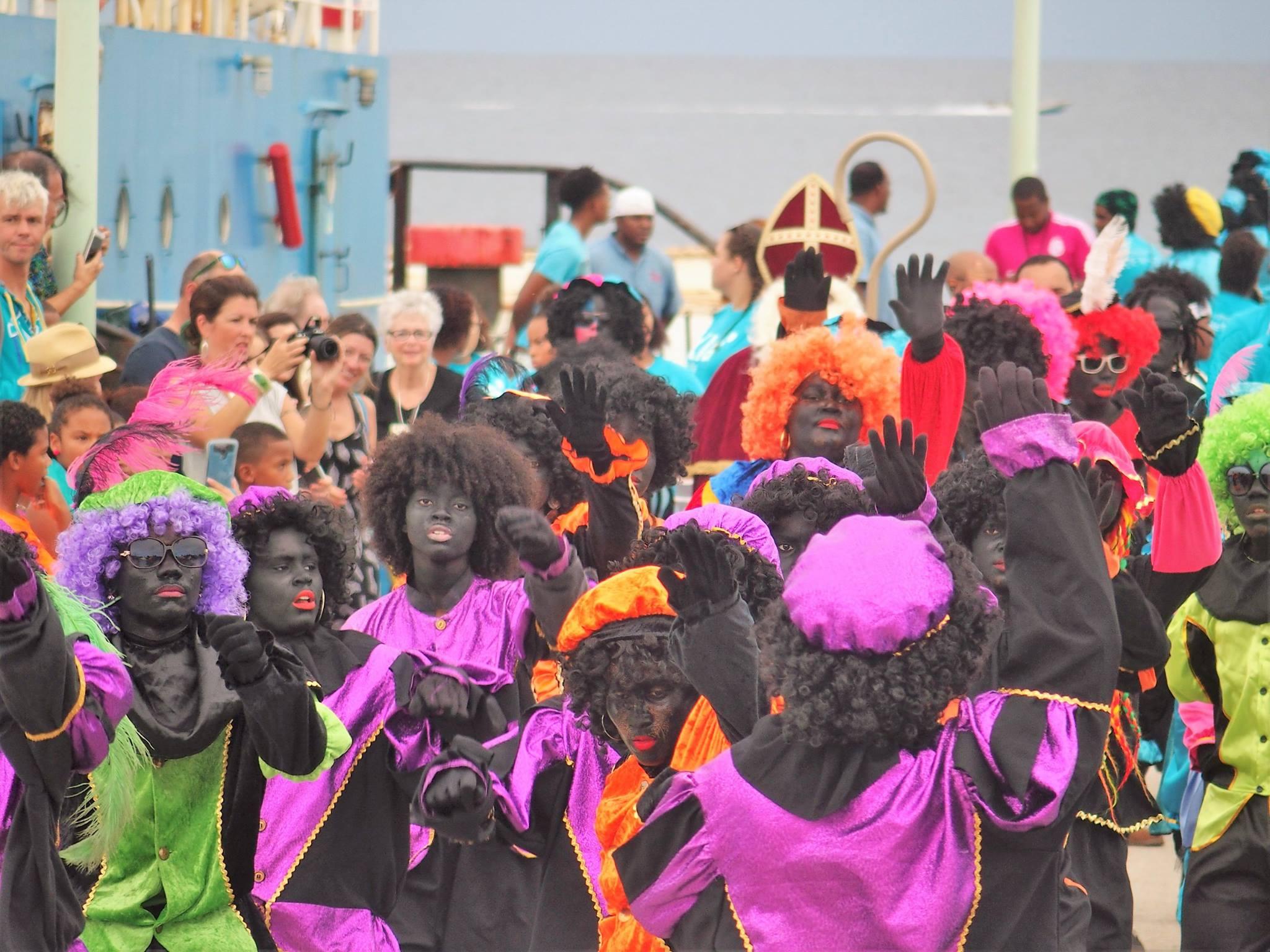 Sint en Piet op Bonaire