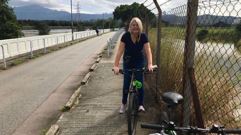 fietsen in nam sang wai