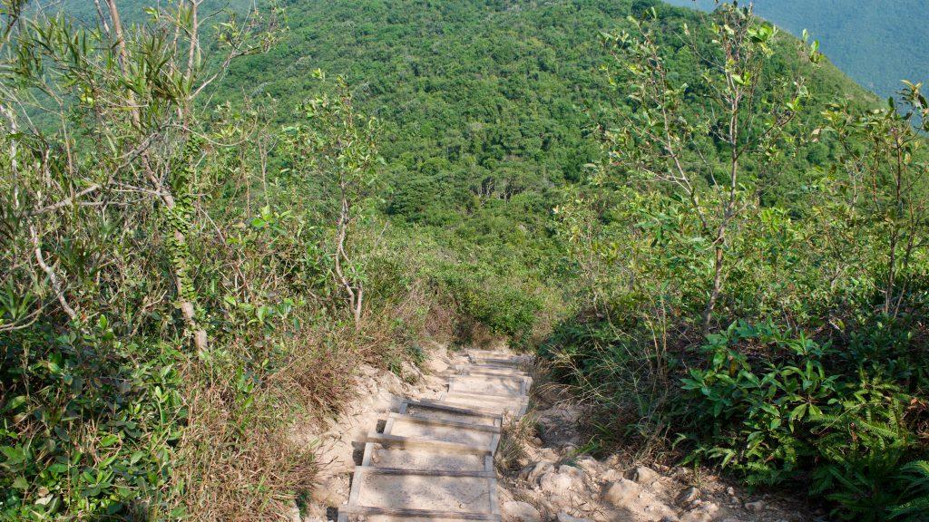 natuurwandeling in hongkong