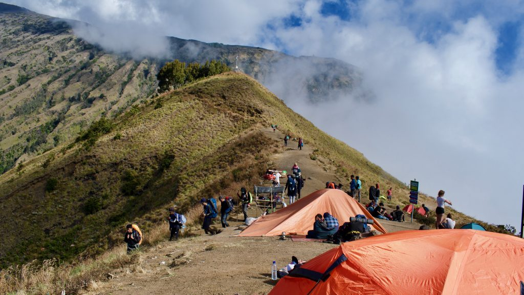 beklimming Mount Rinjani