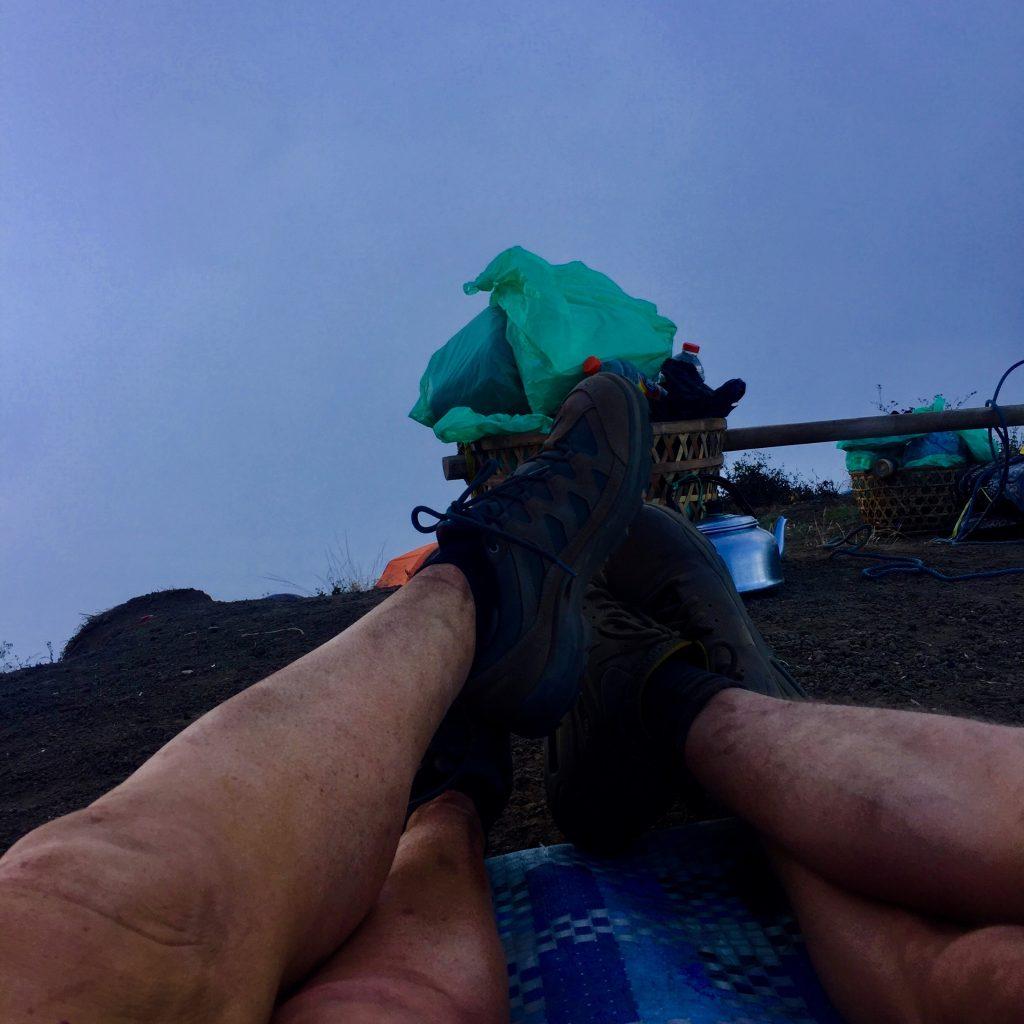 beklimming Mount Rinjani