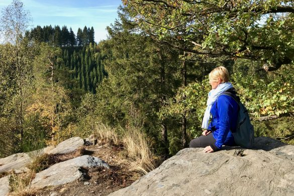 Wandelen over de Eifelstei